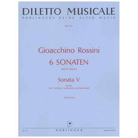 Rossini, G. A.: Violasonate Nr. 5 Es-Dur