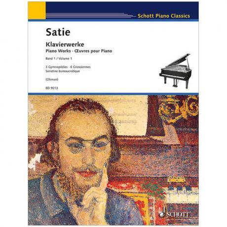 Satie, E.: Klavierwerke Band 1