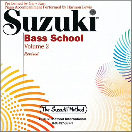 Suzuki Bass School Vol. 2 – CD