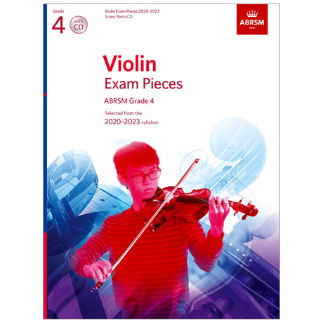 ABRSM: Violin Exam Pieces Grade 4 (2020-2023) (+CD)