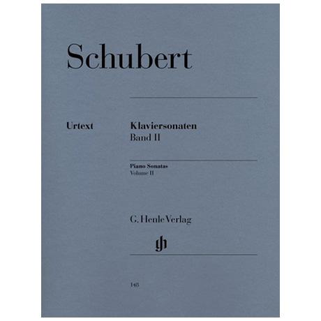 Schubert, F.: Klaviersonaten Band II