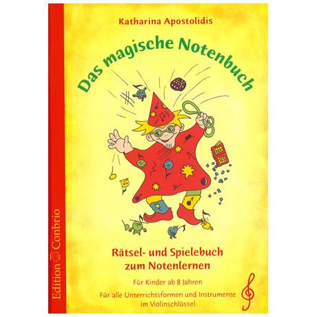 Apostolidis: Das magische Notenbuch (im Violinschlüssel)