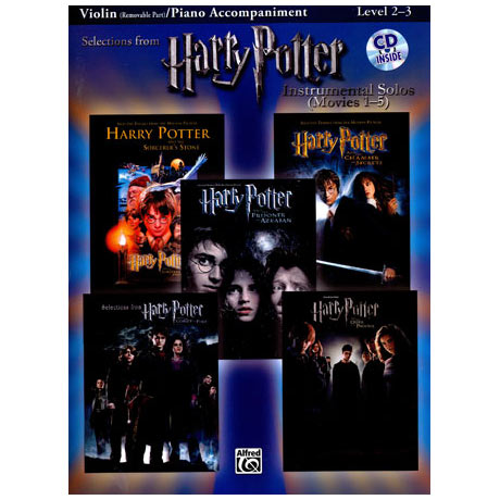 Harry Potter Movies 1-5 (+CD)
