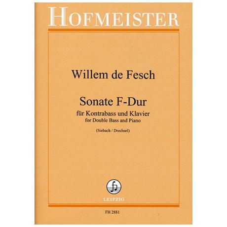 Fesch, W. d.: Sonate F-Dur