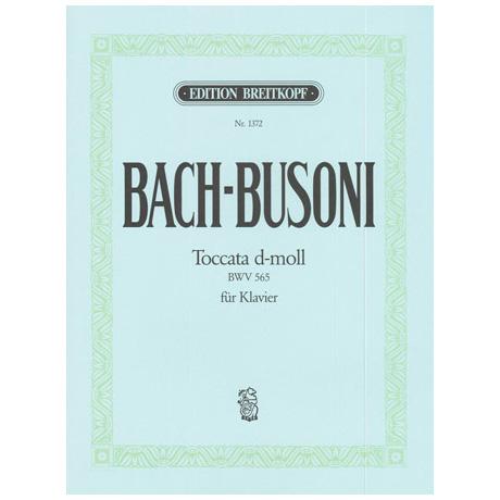 Bach-Busoni: Toccata d-Moll für Orgel