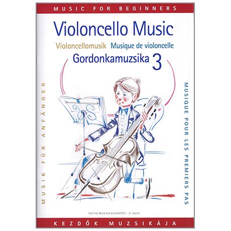 Pejtsik,A.: Violoncellomusik für Anfänger Band 3