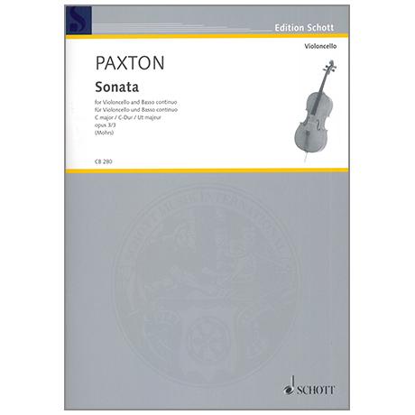 Paxton, S.: Sonate Op.3/3 C-Dur