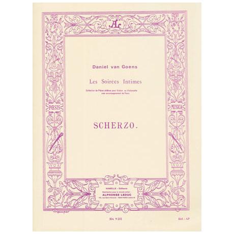 Goens, D.v.: Scherzo Op.12 Nr.2