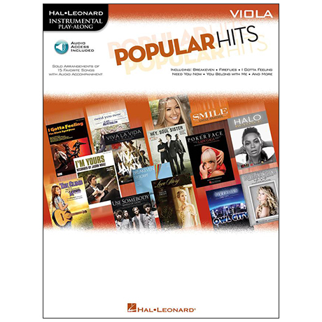 Popular Hits for Viola (+ online Audio)