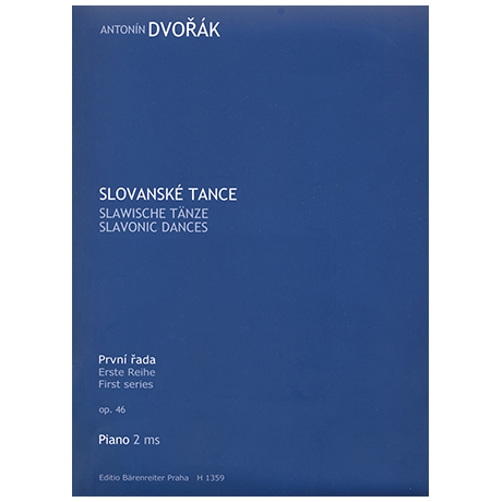 Dvořák, A.: Slawische Tänze Op. 46