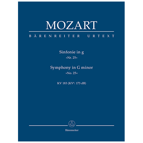 Mozart, W. A.: Sinfonie Nr. 25 g-Moll KV 183 (KV6: 173 dB)
