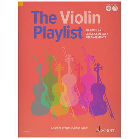 Carson Turner, B.: The Violin Playlist (+Online Audio)