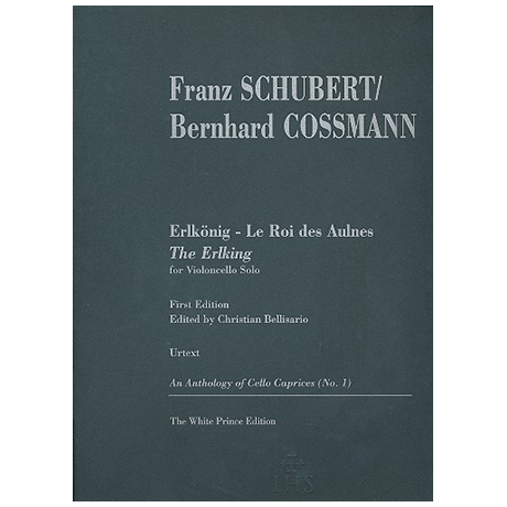 Schubert, F.: Der Erlkönig Op.1 D382