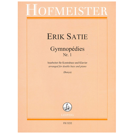 Satie, E.: Gymnopédies Nr. 1