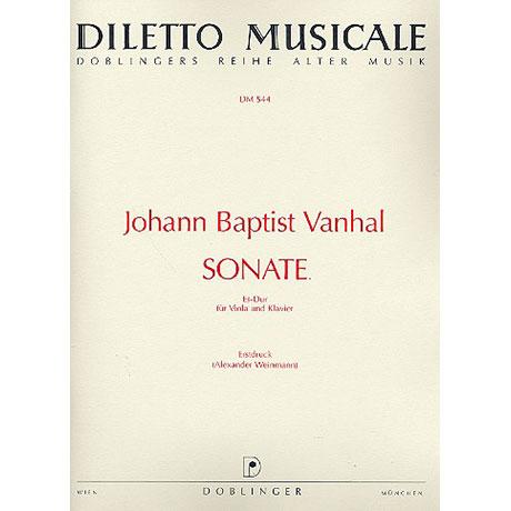 Vanhal, J. B.: Violasonate Es-Dur