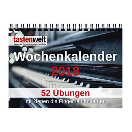 Tastenwelt – Wochenkalender 2018