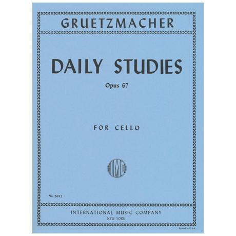 Grützmacher, F.W.: Tägliche Übungen Op. 67