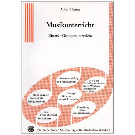 Pfortner, A.: Musikunterricht