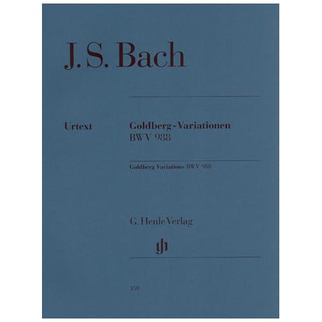 Bach, J.S.: Goldberg-Variationen BWV 988
