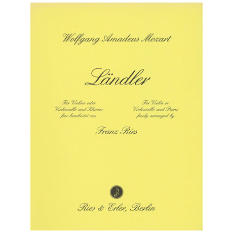 Mozart, W.A.: Ländler G-Dur