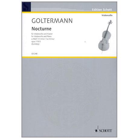 Goltermann, G.: Nocturne a-Moll Op.115/3