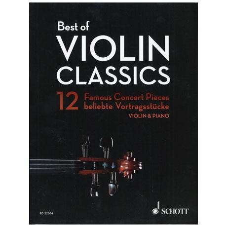Best of Violin Classics – 12 beliebte Vortragsstücke