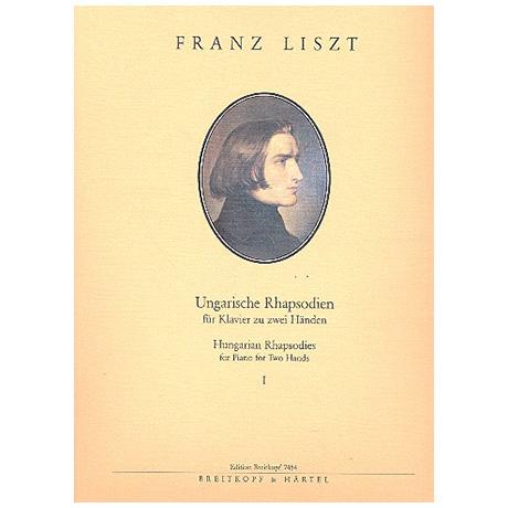 Liszt, F.: Ungarische Rhapsodien Band I: Nr. 1-7