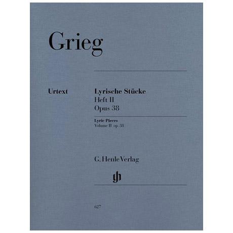 Grieg, E.: Lyrische Stücke Heft II Op. 38