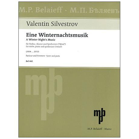 Silvestrov, V.: Eine Winternachtsmusik (2004 ... 2010)