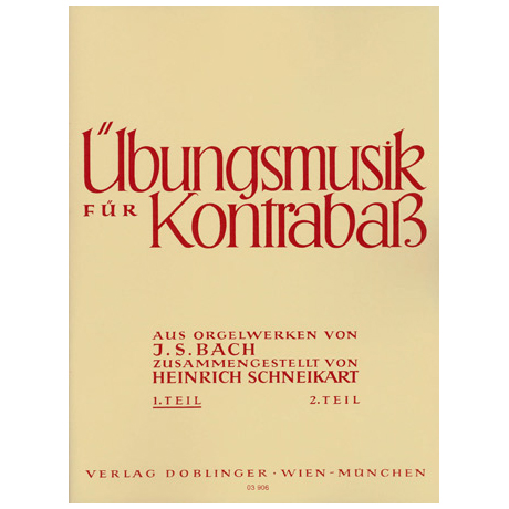 Bach, J.S.: Übungsmusik Heft 1
