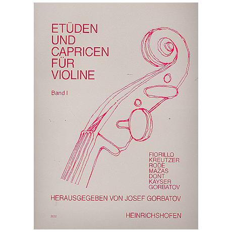 Gorbatov, J.: Etüden und Capricen Band 1