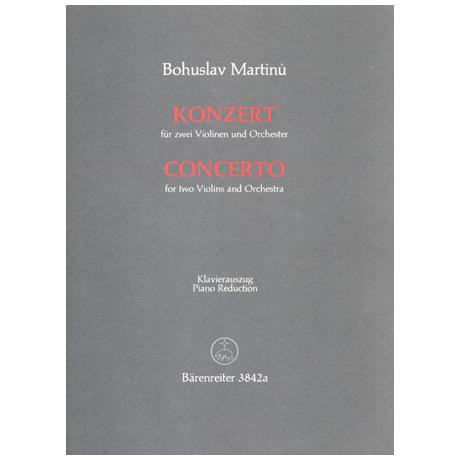 Martinu, B.: Konzert (1950)
