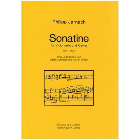 Jarnach, Ph.: Sonatine (1917/1937)