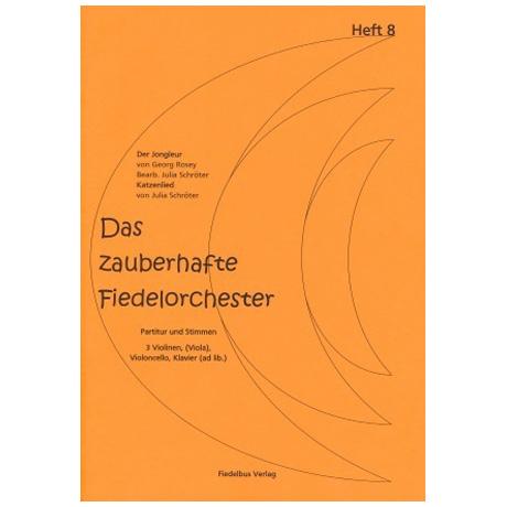 Das zauberhafte Fiedelorchester – Heft 8