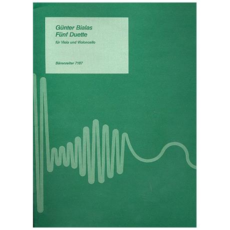 Bialas, G.: 5 Duette