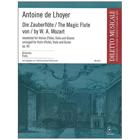 Mozart, W. A.: Die Zauberflöte (Lhoyer Op. 40) – Stimmen