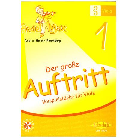 Holzer-Rhomberg, A.: Fiedel-Max. Der große Auftritt 1 für Viola