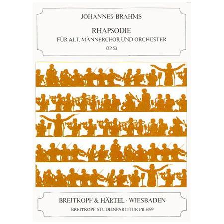 Brahms, J.: Rhapsodie Op. 53