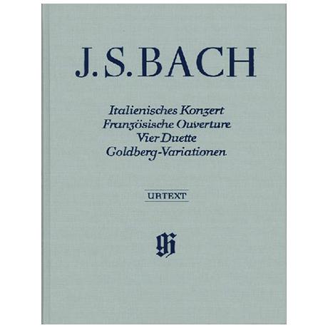 Bach, J.S.: Ital. Konzert, Franz. Ouverture, 4 Duette, Goldberg-Variationen