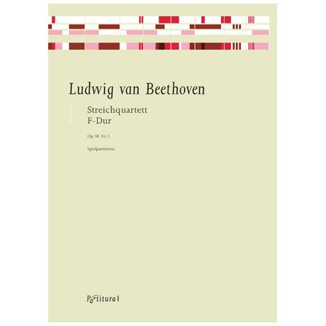 Beethoven, L. v.: Streichquartett Op. 18/1 F-Dur