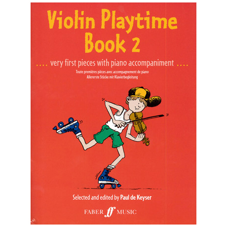 Violin Playtime 2 - Very first pieces..