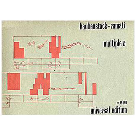 Haubenstock-Ramati, R.: Multiple 5