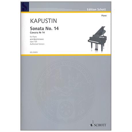 Kapustin, N.: Sonata No. 14 Op. 120