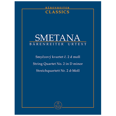 Smetana, B.: Streichquartett Nr. 2 d-Moll