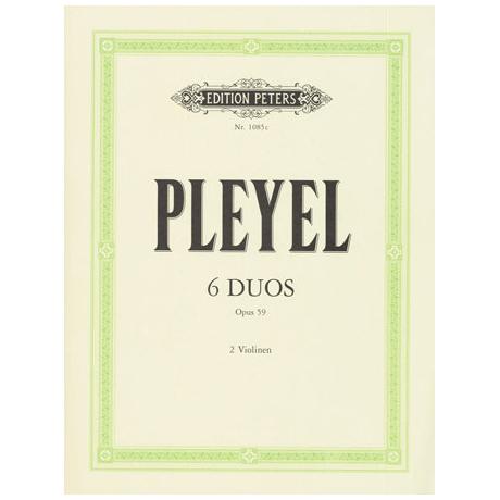 Pleyel, I.J.: 6 kleine Duos Op.59