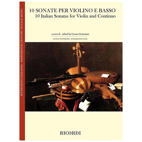 10 Italienische Violinsonaten