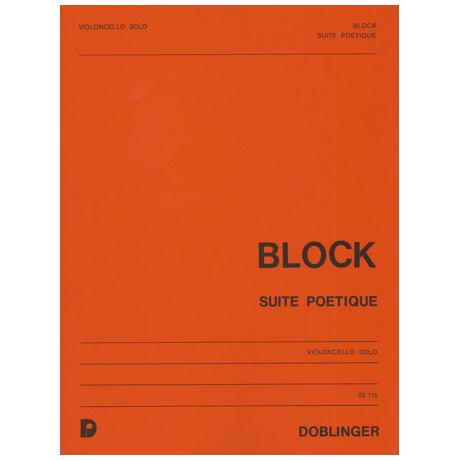 Block, H. V.: Suite poétique