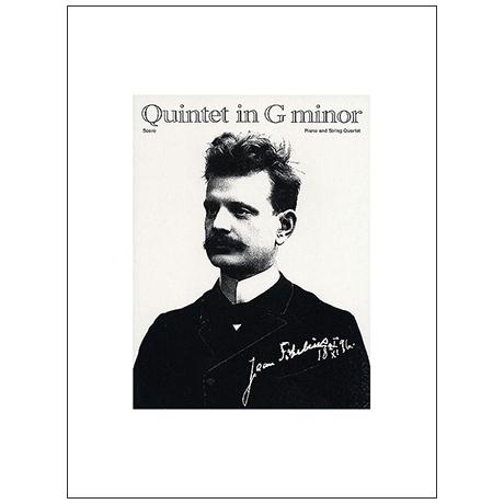 Sibelius, J.: Klavierquintett g-Moll (1889/90) – Klavier