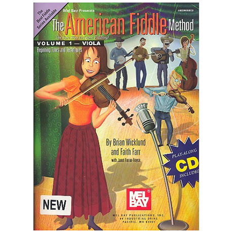 Wicklund, B.: The American Fiddle Method Vol.1 (+CD)
