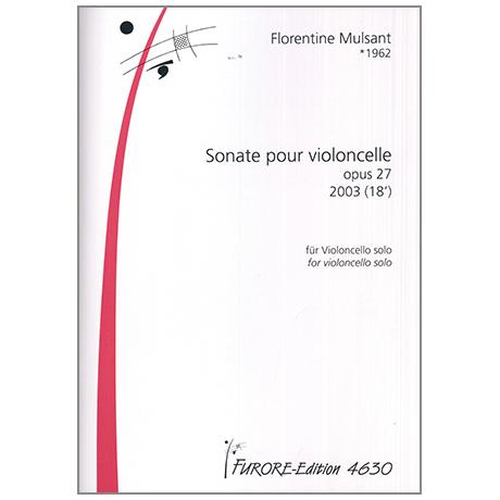 Mulsant, F.: Violoncellosonate Op. 27